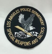 TOPPA PATCH AMERICANA SWAT SPECIAL WEAPONS AND TACTICS S.W.A.T. AQUILA EAGLE USA