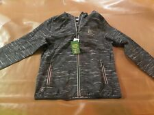 John Deere Licensed Gray Windbreaker Jacket-Brand New