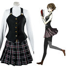 Persona 5 P5 Makoto Niijima Queen Winter Dress Cosplay Costume School Uniform