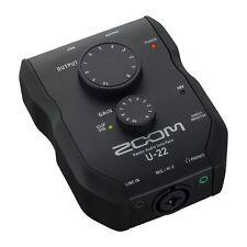 Zoom Pratique Audio Interface U-22 de Japon Neuf