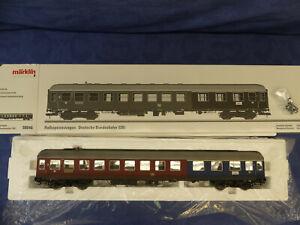 MÄRKLIN Spur 1 Nr. 58046 Halbspeisewagen / 1. Kl. DB mit Innenbeleuchtung, OVP