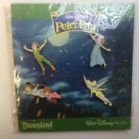 Walt Disney's Peter Pan 4 Pin Booster Collection Wendy Michael Disney Pin 60199