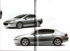 Peugeot 407 Saloon 2004-05 UK Market Sales Brochure Executive SV SE S
