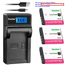 Kastar Battery LCD Charger for Sony NP-FT1 & Sony Cyber-shot DSC-T5/R Camera