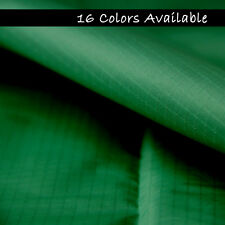 "10 Yards Dark Green RIPSTOP NYLON WATERPROOF FABRIC 59"" x 360"" Home Decorations"
