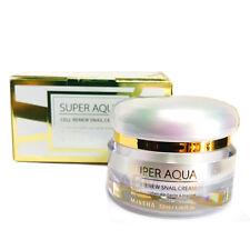 Missha | Super Aqua Cell Renew Snail Cream 1.76 oz.Cream Wrinkle Repairing Cream