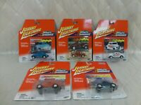 Johnny Lightning Willys Gassers 1933 1941 All American Red Baron Lot of 5 New