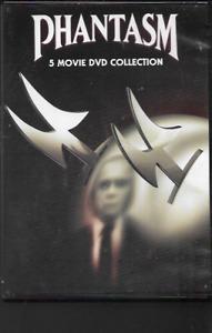 PHANTASM 5 MOVIE COLLECTION GENUINE R1 DVD NTSC REGGIE BANNISTER