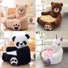 Baby Kids Plush Sofa Seat Children Bear Panda Soft Chair Toddlers Armchair Seat