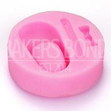 Baby Shoe Christening Newborn Shaped Topper Silicone Mould Fondant Cake Baking