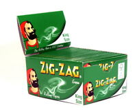 1/2/5/10/20 Zigzag Green Kingsize Rolling Papers - Fast Free Delivery - zig zag