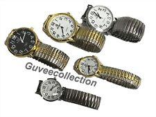Wholesale joblot of 10 mens womens assorted random fashion Stretch wrist watches