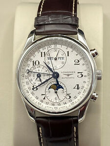Longines Master Collection Moonphase Men's Watch L2.673.4.78.3