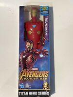 "Avengers Marvel Titan Hero Series 12"" Iron Man Action Figure by Hasbro NEW"