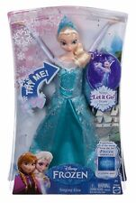 Mattel Disney Frozen Singing Elsa Doll New Let It Go Snow Queen 11 inches