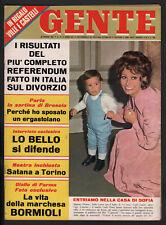 GENTE 13/1970 PATTY PRAVO ZECCHINO D'ORO BALDINI ROMANELLI MICHELE DANCELLI