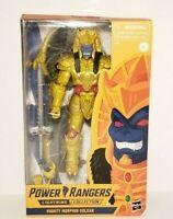 "Goldar Mighty Morphin Power Rangers Lightning Collection 6"" Action Figure Hasbro"