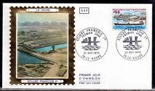 FRANCE FDC - 865 1772 4 ECLUSE FRANCOIS 1er DU HAVRE 27 10 1973