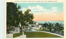 Florida, FL, ST Petersburg, Nook Overlooking Tampa Bay in North Shore 1920's PC