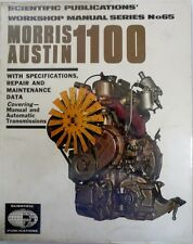MORRIS AUSTIN GARAGE WORKSHOP MANUAL BY SCIENTINFIC PUBLICATIONS