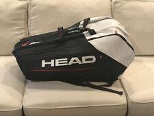 Head Djokovic Monstercombi 12 pk racquet bag - New with tags (Rare Navy/white)