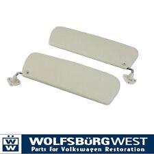 Sunvisors White, Pair 58-67. VW Volkswagen Splitscreen Split Van