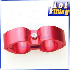 14 AN 14AN ID 25.4mm Billet Fuel Red Hose Separator Fittings Adapter