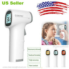 USA Digital Non-contact IR Infrared Thermometer Forehead Body Temperature TP500