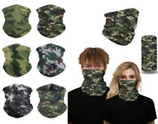 Unisex Bandana Camouflage Half Face Cover Scarf Snood Outdoor Sports Neck Gaiter