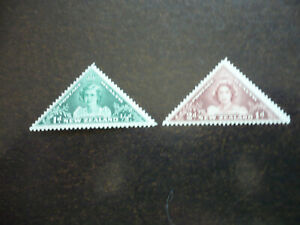 Stamps - New Zealand - Scott# B22-B23 - Semi-Postal