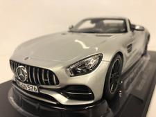 NOREV Mercedes-AMG GT C Roadster 2017 Echelle 1:18 Voiture Miniature - Argent