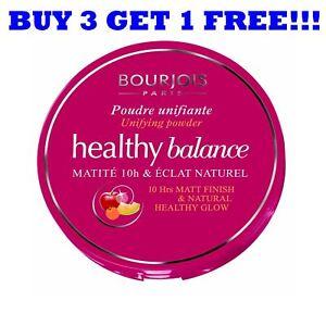 Bourjois Pressed Powder Healthy Balance 9g Dark Beige 55