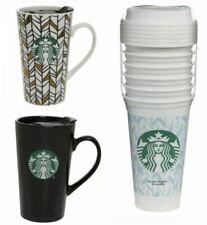 New Starbucks Coffee Ceramic Tumbler Latte Mug Travel Cup Reusable Cups