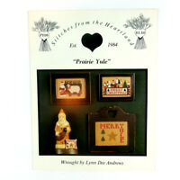 Prairie Yule Cross Stitch Stitches from the Heartland Lynn Dee Andrews 1987 PY05