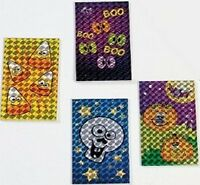 Pack of 12 - Prismatic Scary Halloween Notepads - Party Bag Fillers