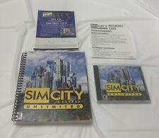 Sim City 3000 Unlimited Original Box Building Simulation PC Game
