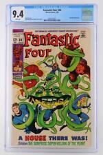 Fantastic Four #88 -NEAR MINT- CGC 9.4 NM - Marvel 1969 - Mole Man App!