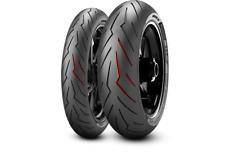 Pneumatici Moto Pirelli Diablo Rosso 3 III Nuovi Coppia Gomme 120 + 180