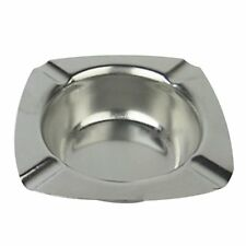 Stainless Steel Ashtray 124mm. H6P2