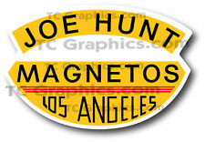 Joe Hunt Magneto Nostalgia Car Decal