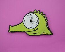 Crocodile Fun Cartoon - Wall Clock