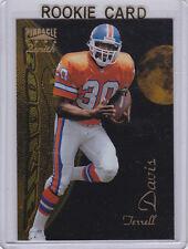 TERRELL DAVIS #30 Denver Broncos 1995 Zenith Football NFL ROOKIE CARD Foil RC