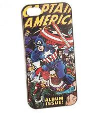 RETRO MARVEL COMICS CAPTAIN AMERICA PHONE CASE IPHONE 5 BRAND NEW GREAT GIFT