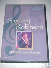SMOKEY ROBINSON - STANDING ROOM ONLY -DVD NEUF S/CELLO