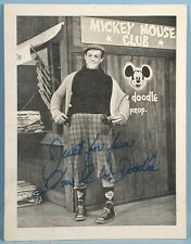 1960s Mickey Mouse Club Baltimore Regional Tv Host P.W. Doodle Photo Premium