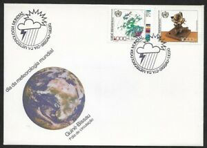 Guine Bissau 1990 World Day of Meterology Cover