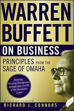 Warren Buffett on Business: Principles from the Sage of Omaha: By Buffett, Wa...