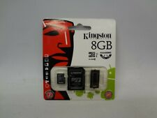 Kingston MBLY10G2 8GB Micro SD Card and Adapter *New Unused*