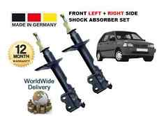 KIA PRIDE 1990--> 1.1 1.3  NEW FRONT LEFT + RIGHT SHOCK ABSORBERS SHOCKERS SET