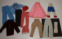 Vintage Barbie Ken & Friends CLONE Clothing Lot PANTS TOPS Jodhpurs Mix & Match